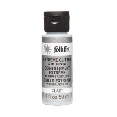 2-oz. Silver Extreme Glitter Craft Paint
