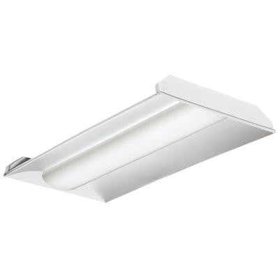 4 ft. Gloss White LED Architectural Troffer