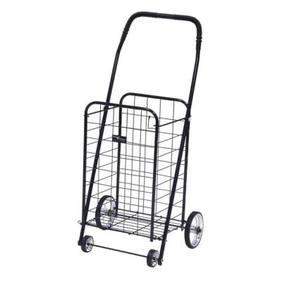 Mini Shopping Cart in Black