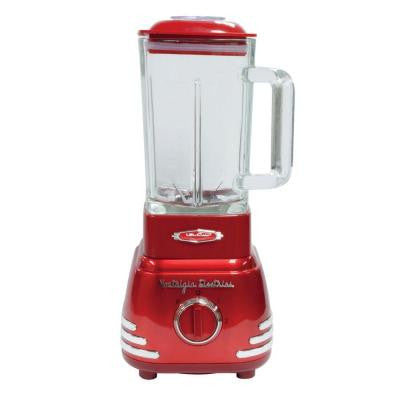 Retro Series '50s-Style Blender in Red