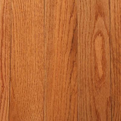 3/4 in. Thick x 3-1/4 in. Wide x Random Length Solid Oak Gunstock Hardwood Flooring (22 sq. ft. / case)