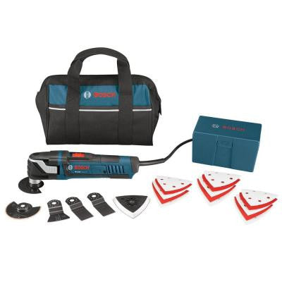 3 Amp Corded Multi-X Oscillating Tool Kit (21-Piece)