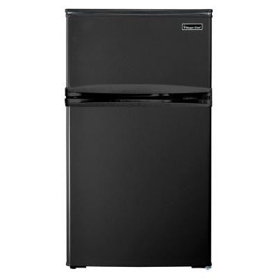 3.1 cu. ft. Mini Refrigerator in Black