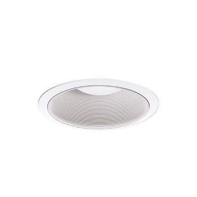 3 in. White Recessed Lighting Adjustable Baffle Trim