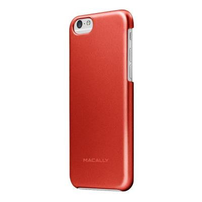 Metallic Snap-On Case Designed for the iPhone 6 - Red