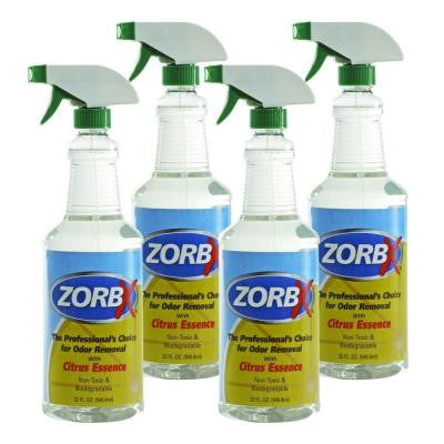 32 oz. Citrus Odor Remover (4-Pack)