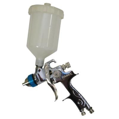 Gravity Feed Spray Gun with 600 ml Cup HVLP Industrial Duty