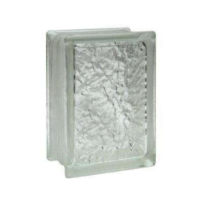 IceScapes 6 in. x 8 in. x 3 in. Glass Blocks (12-Pack)
