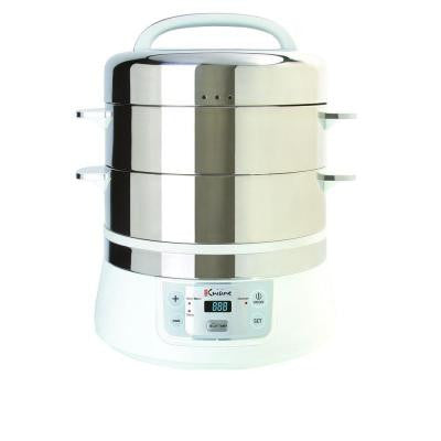 Stainless Steel Electric Food Steamer
