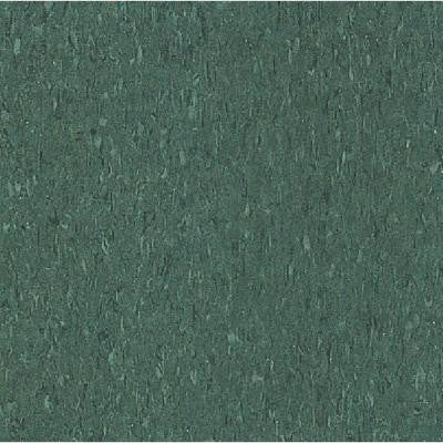 Imperial Texture VCT 12 in. x 12 in. Basil Green Standard Excelon Commercial Vinyl Tile (45 sq. ft. / case)