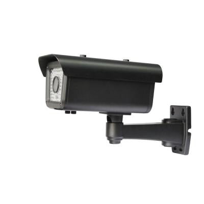 Wired 700 TVL 1/3 in. 960H CCD Indoor/Outdoor Bullet Camera - Black