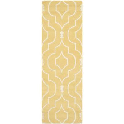 Chatham Light Gold/Ivory 2 ft. 3 in. x 7 ft. Rug Runner