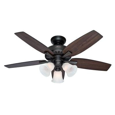 Atkinson 46 in. New Bronze Indoor Ceiling Fan