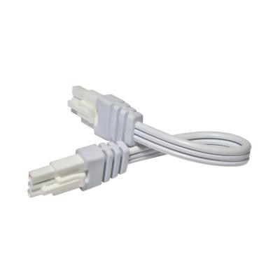 6 in. White Linking Cable for LED Under Cabinet Light