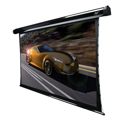 92 in. Electric Tension Projection Screen - Cine Grey