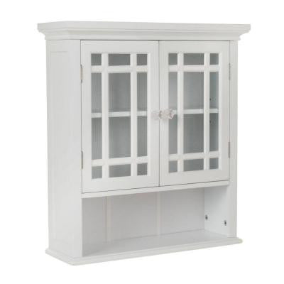 Albion 22 in. W MDF White Wall Cabinet