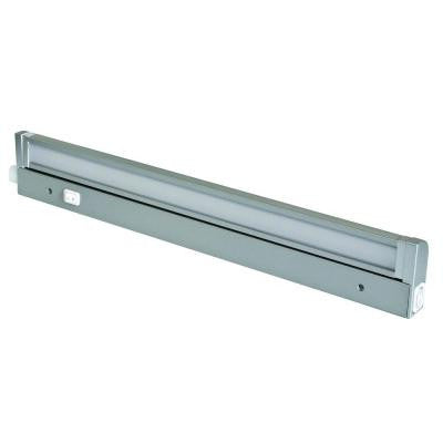 12 in. LED Silver Under Cabinet Light