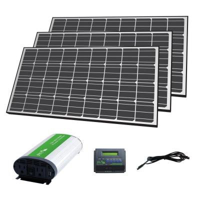 420-Watt Solar Panel Off-Grid Charger Kit