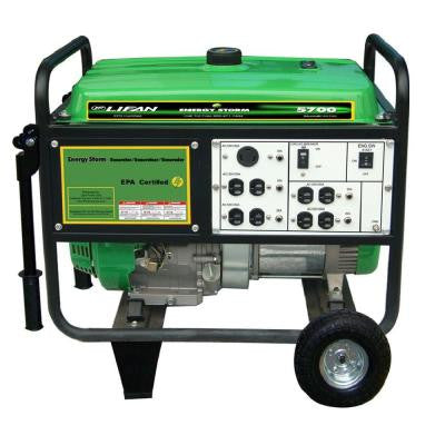 Energy Storm 5,500-Watt 389cc Gasoline Powered Electric Start Portable Generator with Automatic Voltage Regulator