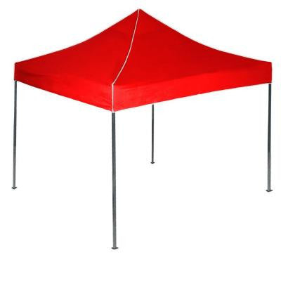 10 ft. x 10 ft. Canopy Tent in Red