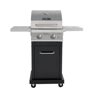 Small Space 2-Burner Propane Gas Grill