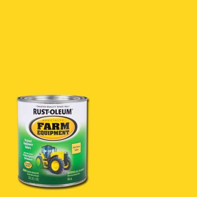 1-qt. John Deere Yellow Gloss Farm Equipment Paint (Case of 2)