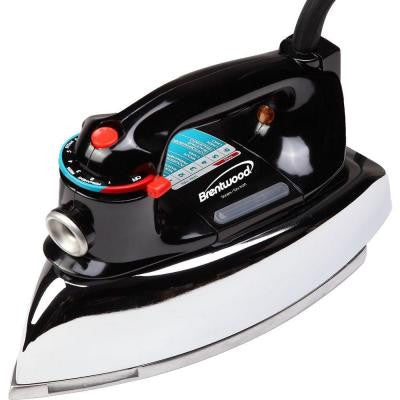 Classic Clothes Iron in Black