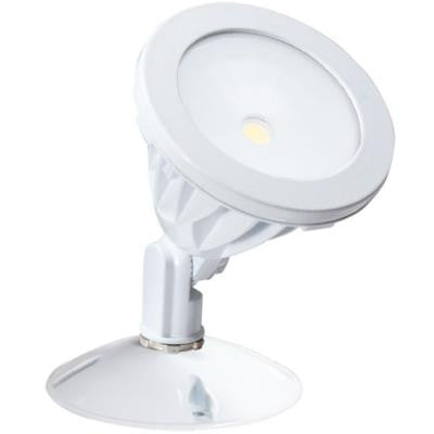 Wall-Mount Outdoor White LED Flood Light