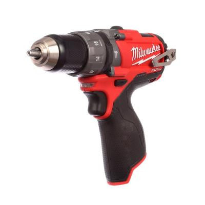 M12 Fuel 12-Volt Brushless 1/2 in. Hammer Drill and Driver (Tool-Only)
