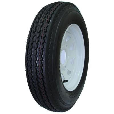 5 Hole 50 PSI 5.7 in. x 8 in. 4-Ply Tire and Wheel Assembly