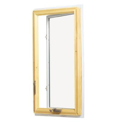 28.375 in. x 48 in. 400 Series Casement Wood Window - White