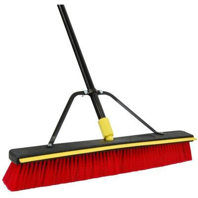 Bulldozer 24 Inch 2 In 1 Squeegee Pushbroom (Case of 4)