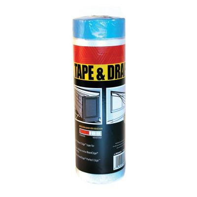Tape and Drape 4 ft. Pre-Taped Masking Film