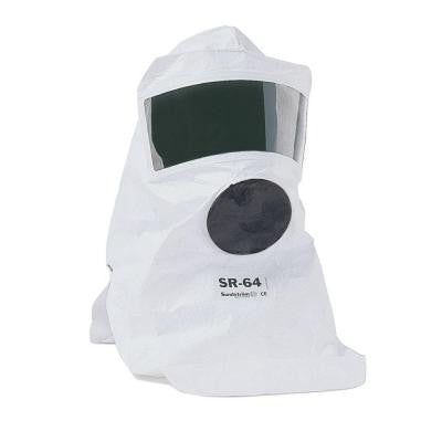 Tyvek Protective Hood with Visor, respirator not included