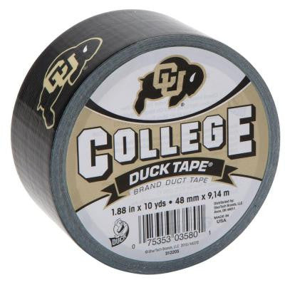 College 1-7/8 in. x 30 ft. University of Colorado Duct Tape (6-Pack)
