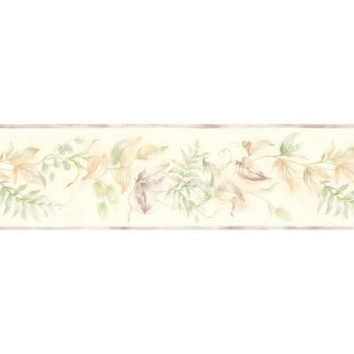 7 in. Leaf Scroll Border