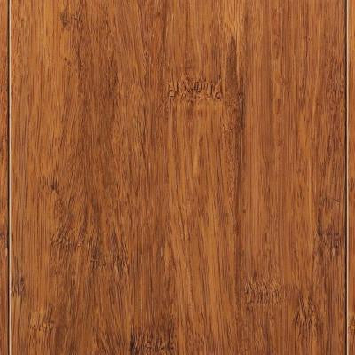Strand Woven Harvest 3/8 in. Thick x 4.92 in. Wide x 72-7/8 in. Length Click Lock Bamboo Flooring (29.86 sq. ft. / case)