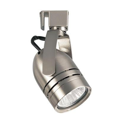 Alpha Trak Collection 1-Light Brushed Nickel Lighting Head