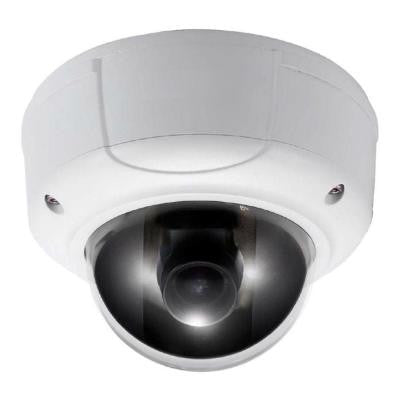 Wired 3 Megapixel Full HD Vandal-proof Network Dome Indoor/Outdoor Camera