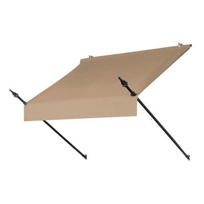 4 ft. Designer Manually Retractable Awning (Projection 36.5 in.) in Sand