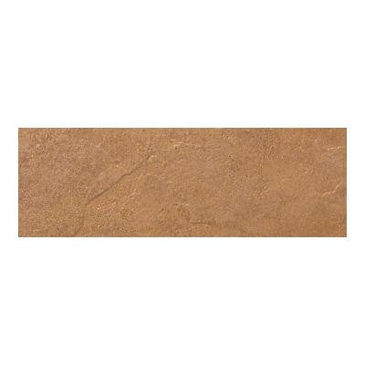 Cliff Pointe Redwood 3 in. x 12 in. Porcelain Bullnose Floor and Wall Tile