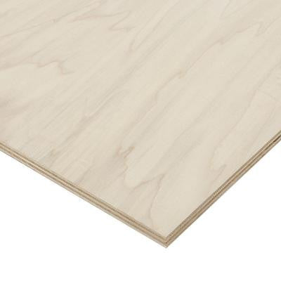 3/4 in. x 2 ft. x 4 ft. PureBond Poplar Plywood Project Panel