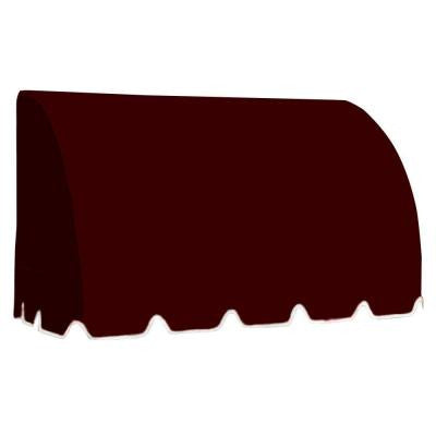 20 ft. Savannah Window/Entry Awning (44 in.H x 36 in.D) in Burgundy