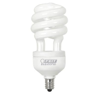 60W Equivalent Soft White (2700K) Candelabra Base Spiral CFL Light Bulb (24-Pack)