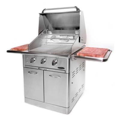Precision 3-Burner Stainless Steel Natural Gas Grill