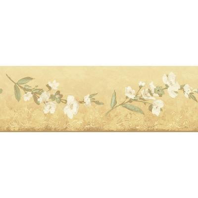 6.83 in. x 15 ft. Yellow Transitional Blossom Border