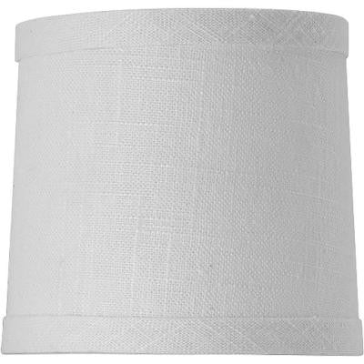 Identity Collection Summer White Fabric Accessory Shade