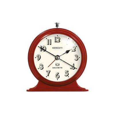 6.75 in. Dolomite Red Alarm Clock
