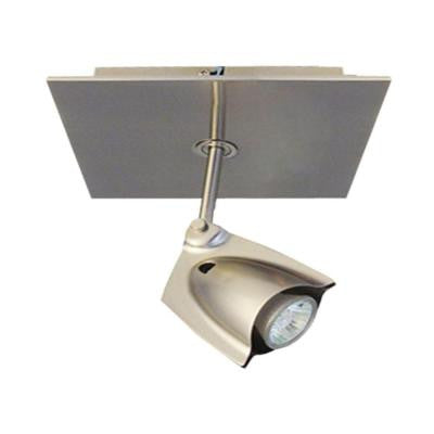 Accent 14 Chrome Square Ceiling Fixture with 1-Spot