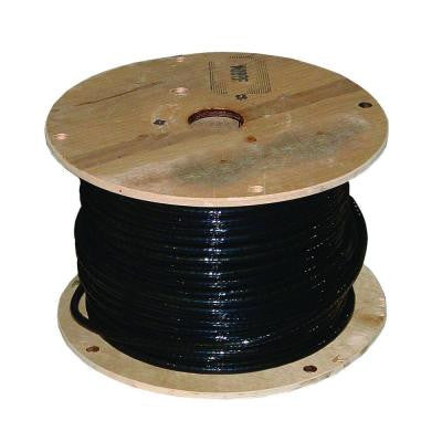 250 ft. 2-1 DLO Stranded Welding Cable - Black